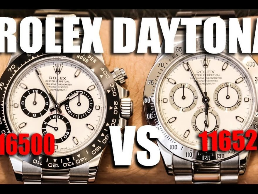 Replica Rolex Daytona 116500 VS 116520