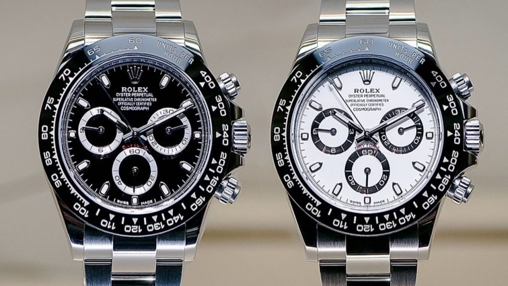 Replica Rolex Daytona 116500 black and white