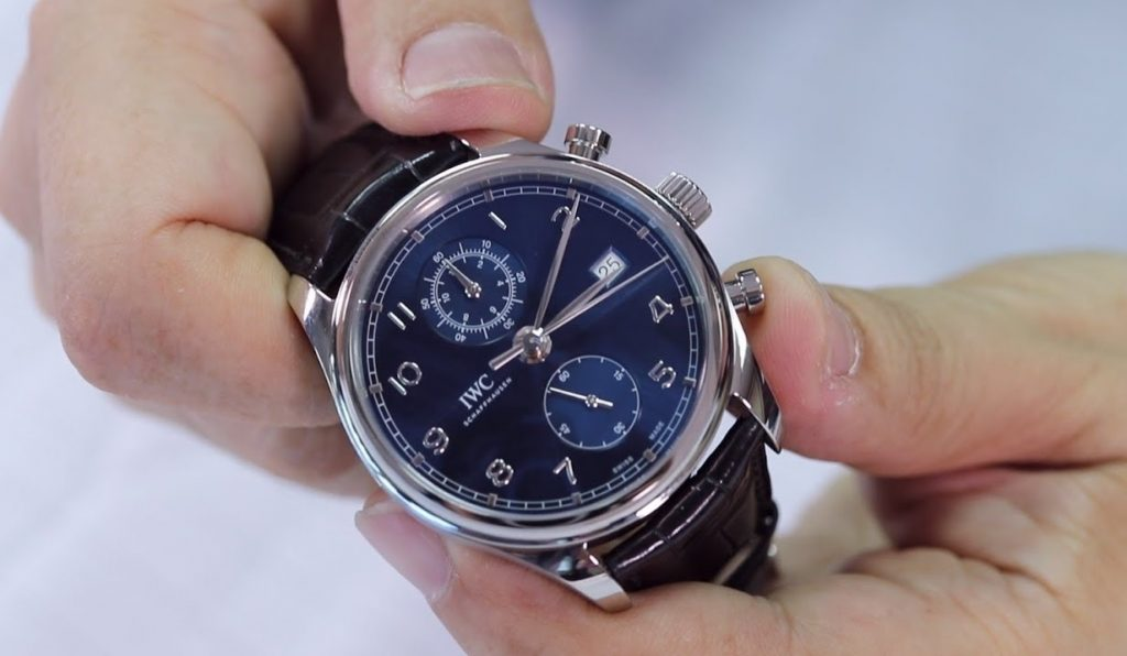 Blue 150-year IWC IW371601 Replica