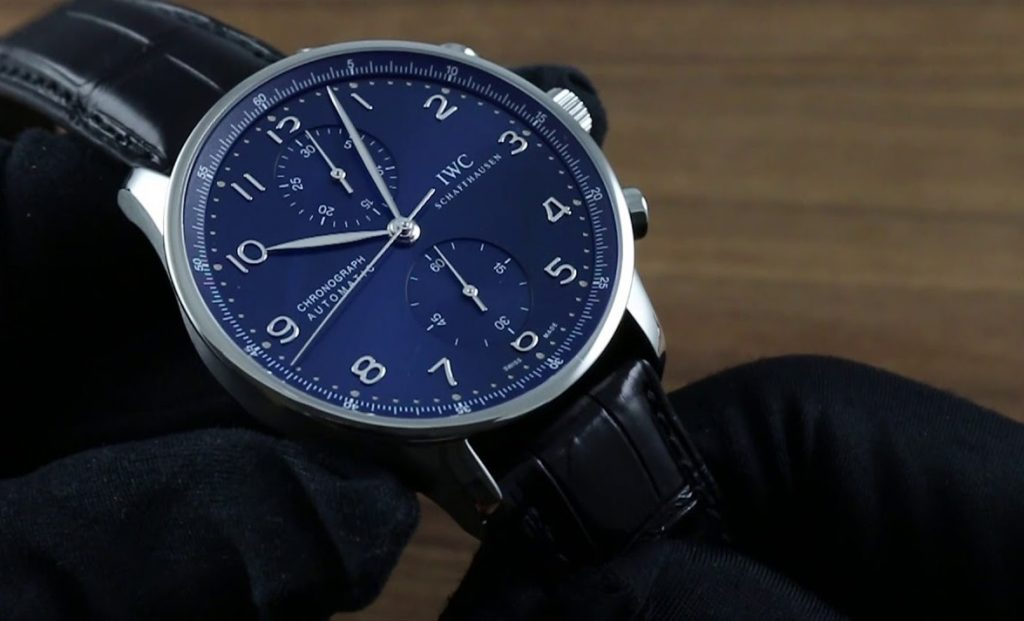 Blue 150-year Replica IWC IW371601