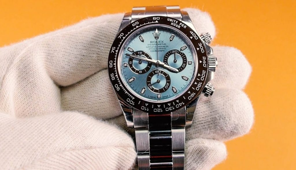 Replica First Platinum Watch Rolex Daytona 116506