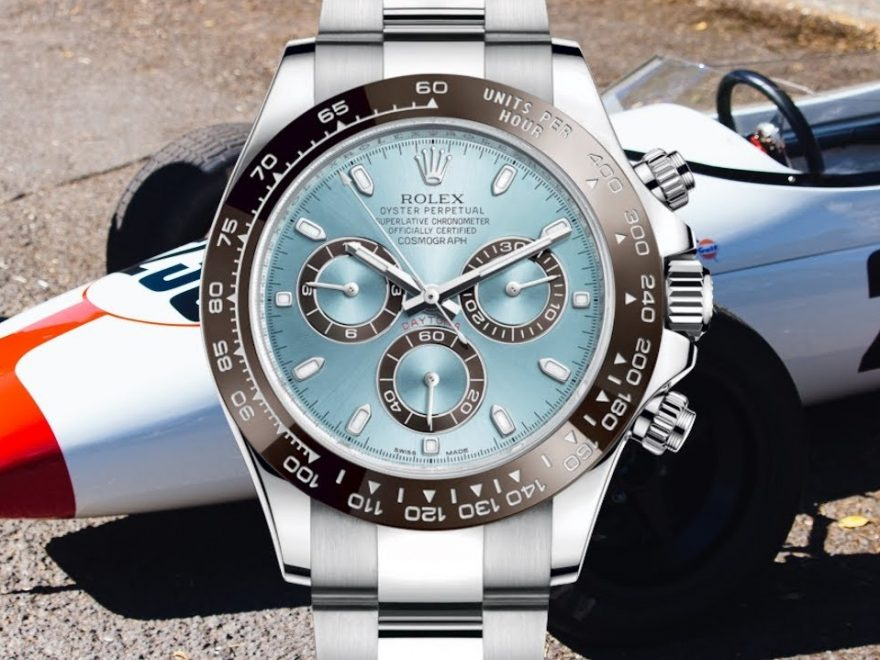 Replica Rolex Daytona 116506 First Platinum Watch
