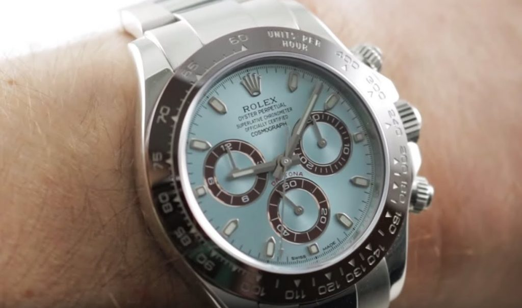 Rolex Daytona 116506 Replica First Platinum Watch