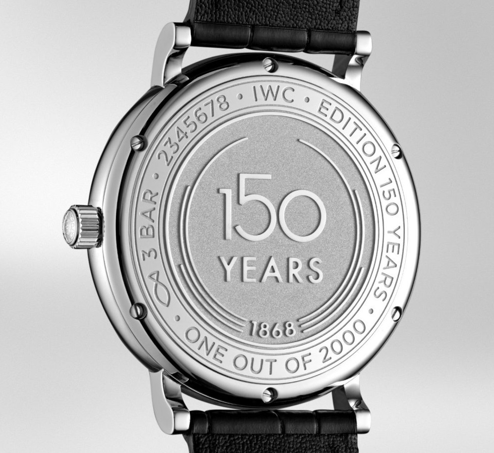 Under $300 but high-quality watches replica IWC Portofino 150 Year IW356519
