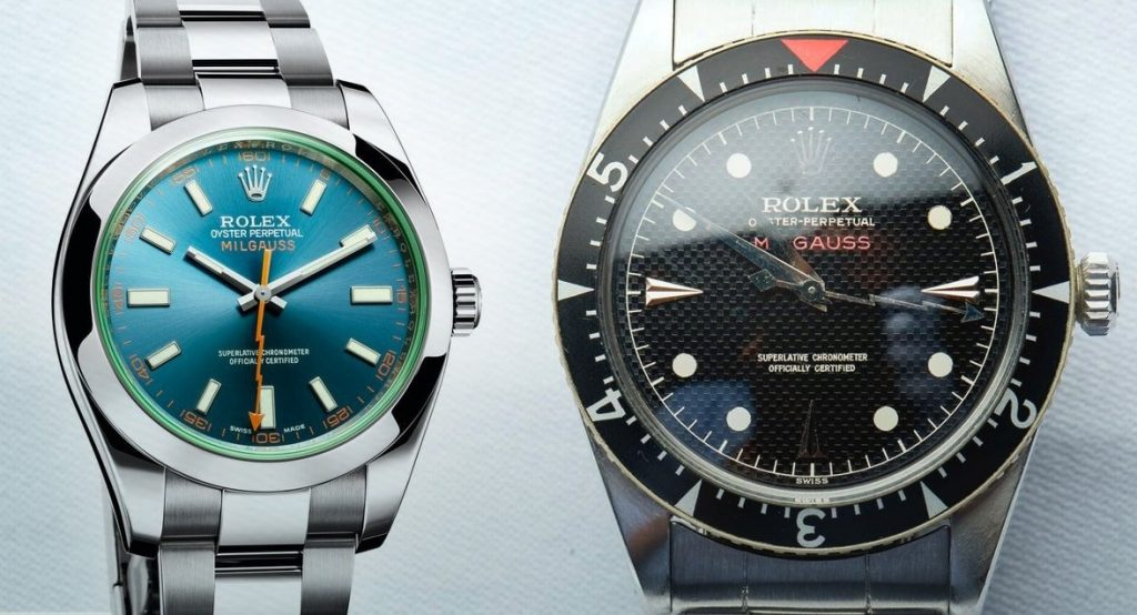 first and latest replica Milgauss