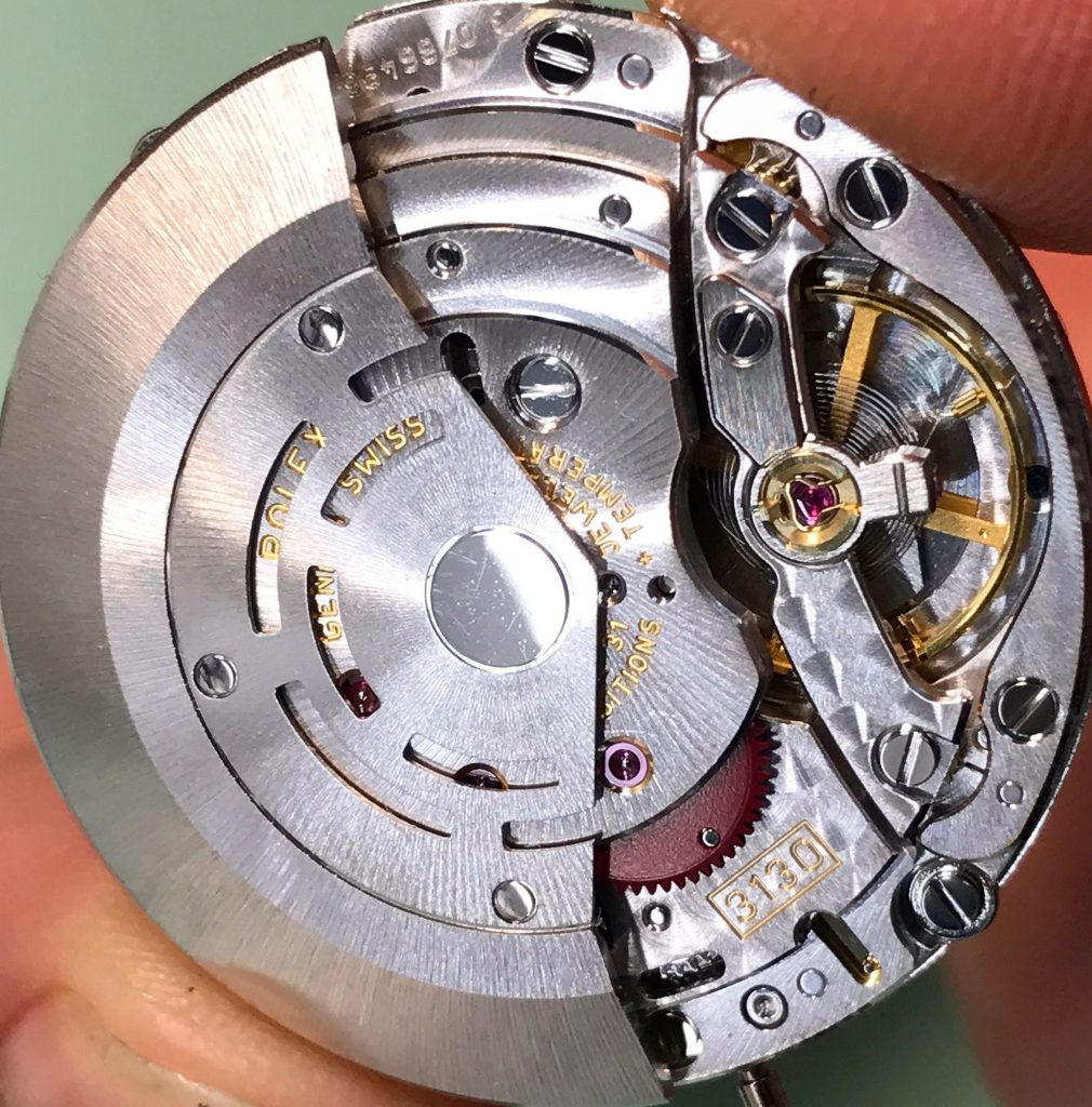 replica Rolex 3130 Movement
