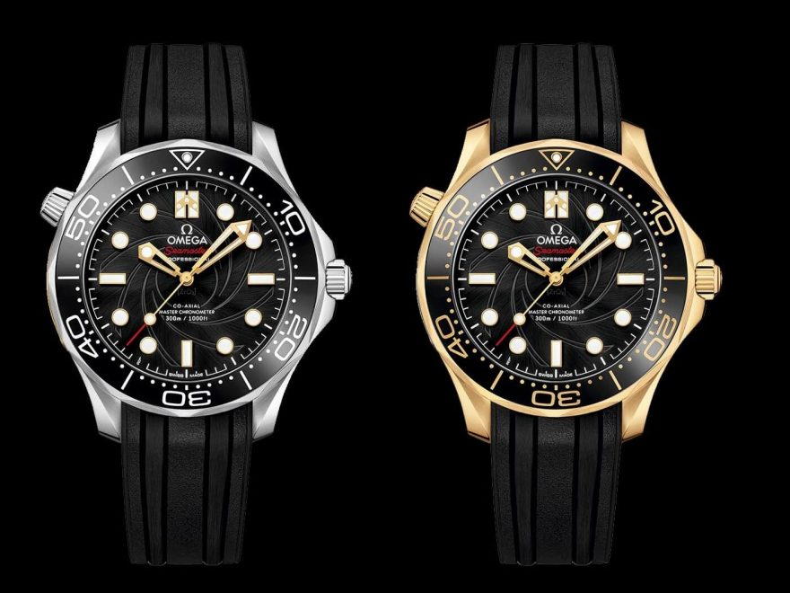 Omega Seamaster Diver 300M- James Bond Replica Limited Edition Set