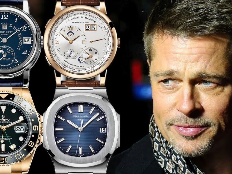 fake Rolex watch that Brad Pitt once wore