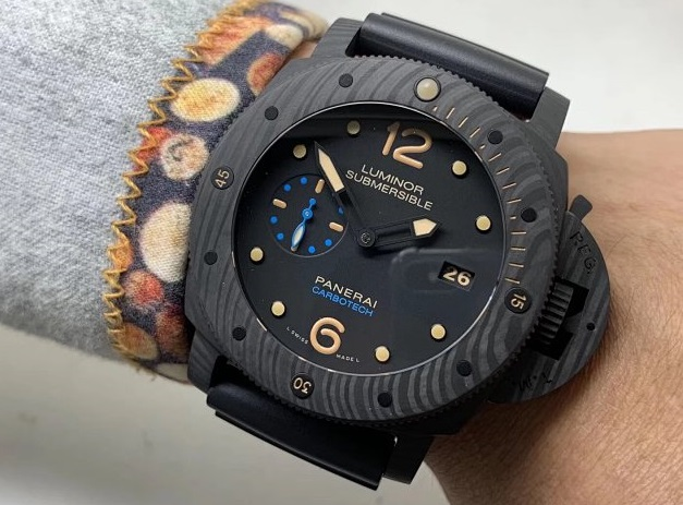 replica Panerai Luminor Submersible 1950 Carbotech PAM 616