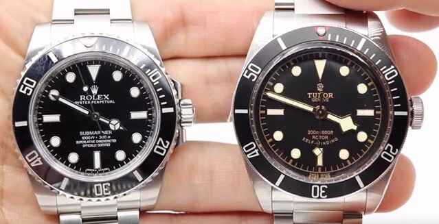 Rolex Submariner VS Tudor Heritage Black Bay