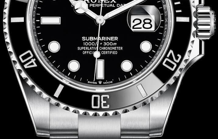 Dial Of Rolex Submariner 41 watches fake